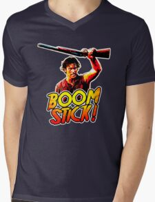 Boom Stick Ash Mens V-Neck T-Shirt