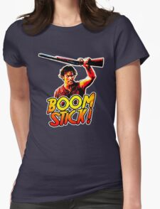 Boom Stick Ash Womens Fitted T-Shirt