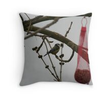Singing for his Supper Throw Pillow