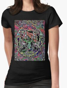 Trip-O-Vision Online Gallery Design 25: Trapped In Time Womens Fitted T-Shirt