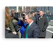 Mayor Bloomberg Canvas Print