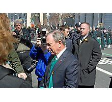 Mayor Bloomberg Photographic Print