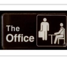 the office logo  Sticker