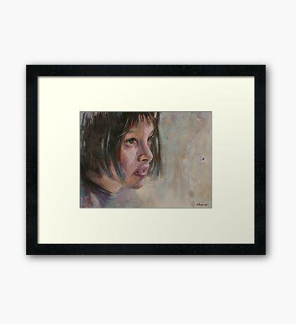 Matilda - Leon - The Professional - Natalie Portman Framed Print