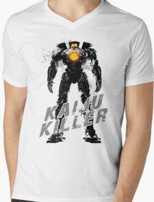 Kaiju Killer Darkness Mens V-Neck T-Shirt