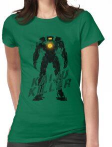 Kaiju Killer Darkness Womens Fitted T-Shirt