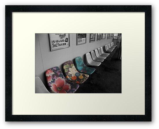 Snazzy seats by Jenny Hall