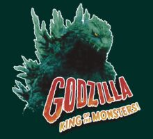 Godzilla King of the Monsters by leea1968