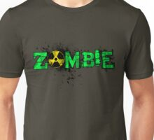Zombie Banner Green Unisex T-Shirt