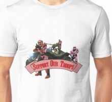 Support Our Troops - Red Team Unisex T-Shirt