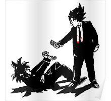 Vegeta x Goku Poster