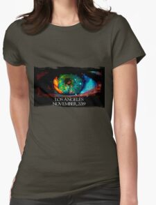 Blade Runner Eye Womens Fitted T-Shirt