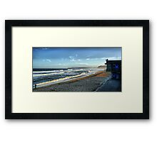 BAR BEACH TOWER Framed Print