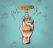 Food Junkie by noisome-art