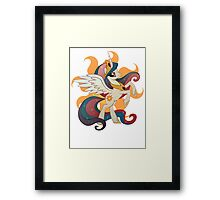 princess celestia Framed Print