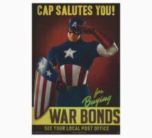 Cap Salutes You! Kids Clothes