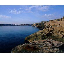 Valletta harbour Photographic Print