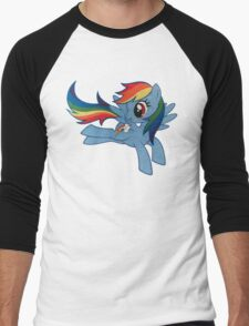 rainbow dash Men's Baseball ¾ T-Shirt