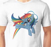 rainbow dash Unisex T-Shirt