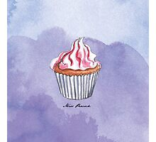 Berry Cupcake Photographic Print