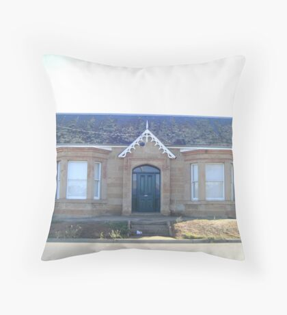 BM: Cottage in the morning sun (i) Throw Pillow