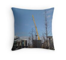 Breaking The Tower Of Babel. Throw Pillow