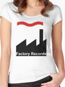 Factory Women's Fitted Scoop T-Shirt