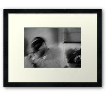 the spirit (self portrait) Framed Print
