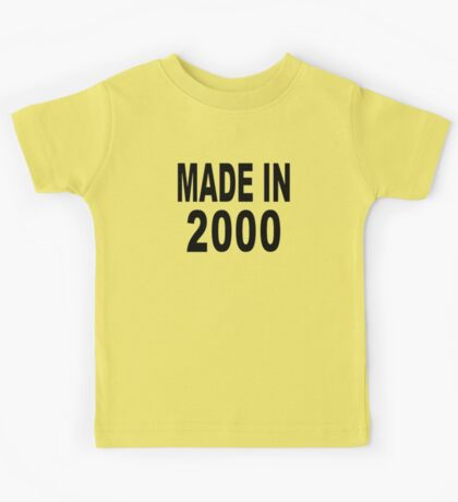 Made in 2000 Kids Tee