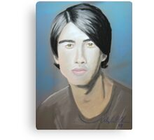Jonas Brother in pastel Canvas Print