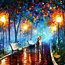 Misty Mood — Buy Now Link - www.etsy.com/listing/198198270 by Leonid  Afremov