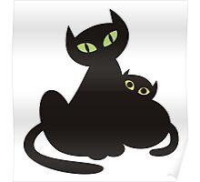 Kitten & Kitty Poster