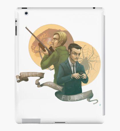 Hell Hath No Fury iPad Case/Skin