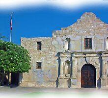El Alamo, San Antonio, TX by shutterbug941