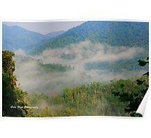 Mist on the Smokies Poster