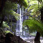 Russell Falls by Richard Keech