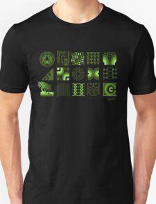 The Green Sunset. Unisex T-Shirt