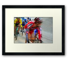 The Move Framed Print