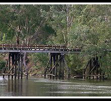 Old Goulburn Bridge by nationalvelvet