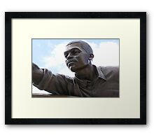 The Hero Framed Print