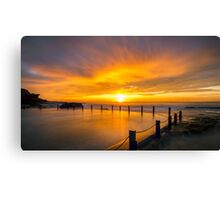 Passion in the Sky Canvas Print