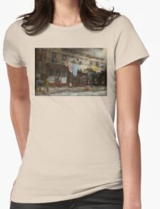 City - Elegant Apartments - 1912 Womens Fitted T-Shirt