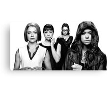 know all their faces Canvas Print