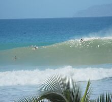THE WAVE, A View of Desecho, Rincon, PR by EMElman