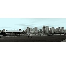 downtown view from expo blvd Photographic Print