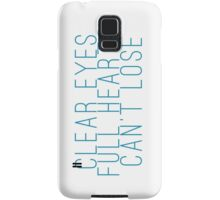 clear eyes, full hearts, can't lose (1) Samsung Galaxy Case/Skin