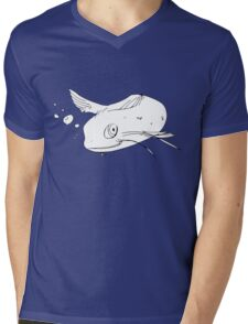 Cool Catfish Mens V-Neck T-Shirt