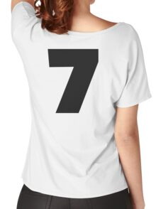 Number 7 seven Women's Relaxed Fit T-Shirt
