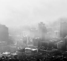 My City in the Clouds by SeeOneSoul