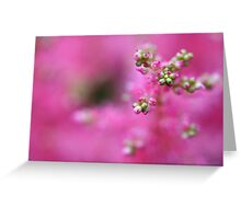 hint of green Greeting Card